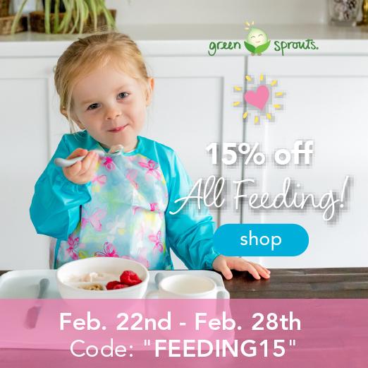 """15% off All Feeding!  Code """"FEEDING15"""""""