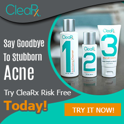 Acne Treatment,acne home remedy,fast acne relief,try CleaRx Risk Free Today!