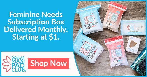 Feminine Needs Delivered Monthly. Starting at $1.