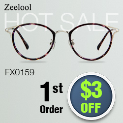 Cheap Floral Eyeglasses