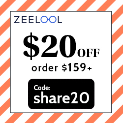 2021 Newest Coupon: $20 off for order above $159