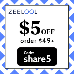 2021 Newest Coupon: $5 off for order above $49