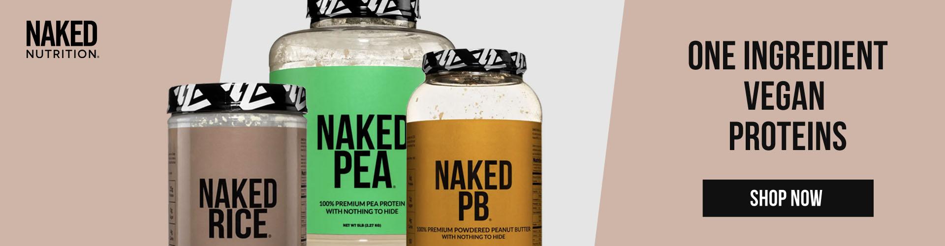 One Ingredient Vegan Proteins