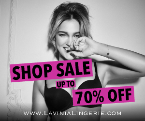 Clearance Sale Save up to 70% @ Lavinia Lingerie