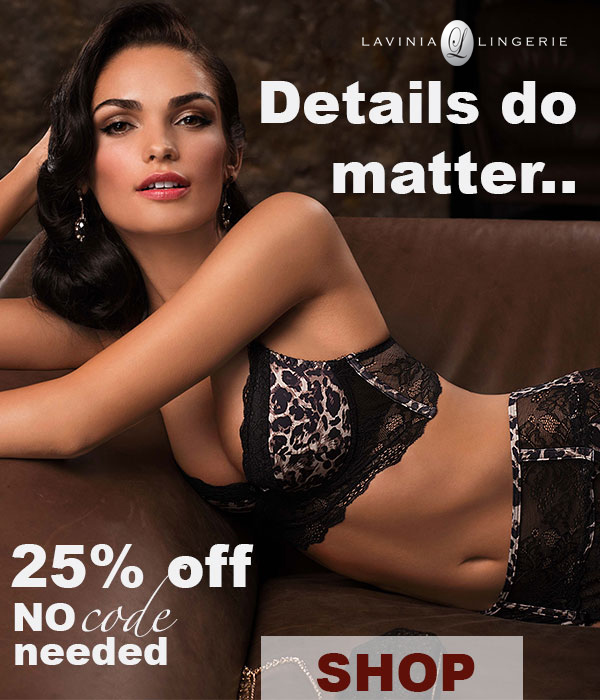Shop Lauma Lingerie Sale & Save 25% On Lavinia Lingerie