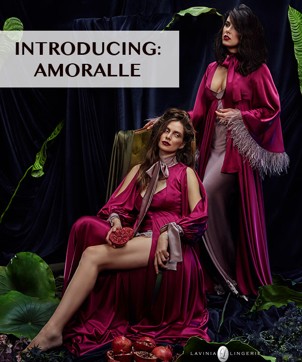 Discover: New Brand On Lavinia Lingerie - Amoralle