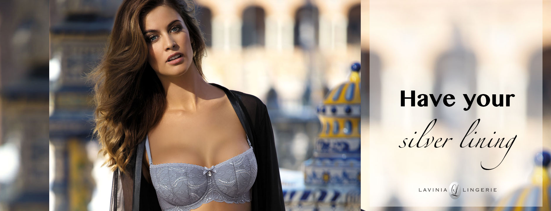 New In: Balconette With A Silver Lining | Available On Lavinia Lingerie
