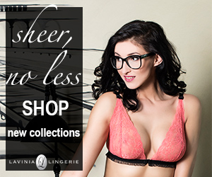 Sheer, no less.. Check New Collections On Lavinia Lingerie