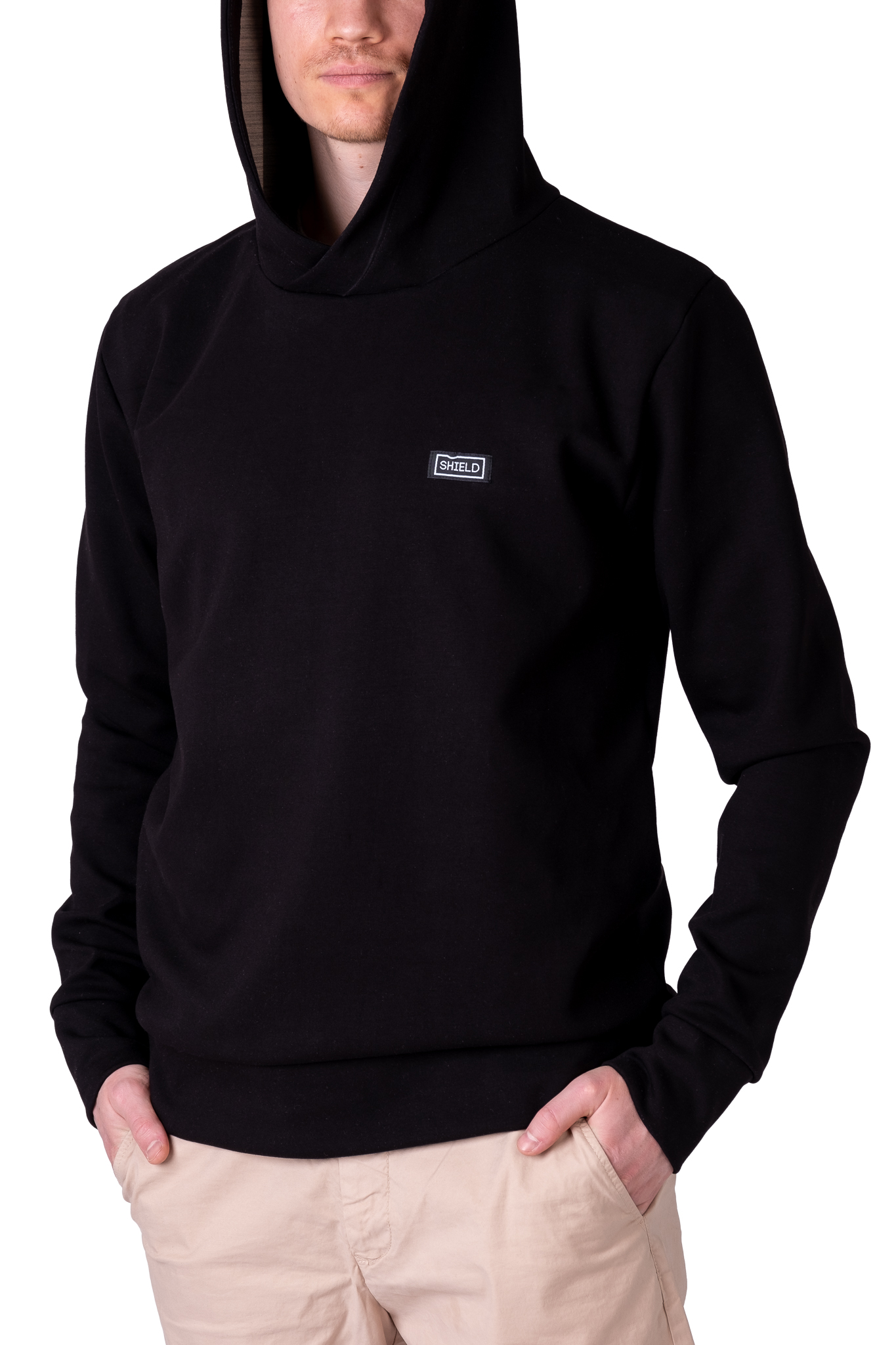 Signal-blocking sweatshirt