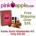 Gift A Kama Sutra Weekender Kit - Only $23.95.