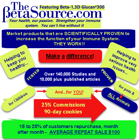 TheBetaSource.com products for everyone,backed by Science, 25% commissions, 90-day cookies