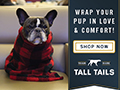 Shop our line of luxuriously soft dog blankets, throws and beds