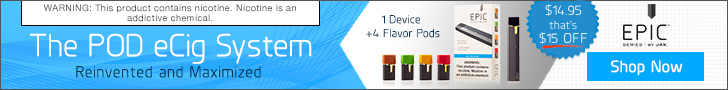 Jak Ecig Coupon Codes and Coupons