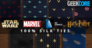 Geeky Silk Ties