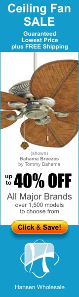 Ceiling Fans - Guaranteed Lowest Price + FREE Shipping