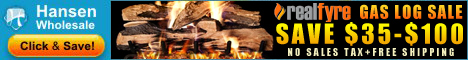 Gas Logs - Guaranteed Lowest Prices plus FREE Shipping!