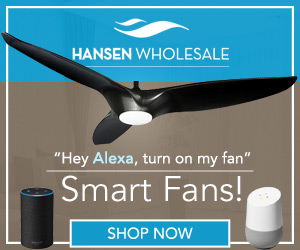 Smart Ceiling Fans at HansenWholesale.com