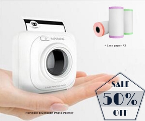 PAPERANG Portable Bluetooth Photo Printer