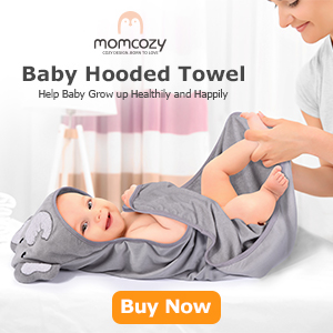 momcozy elephant towel