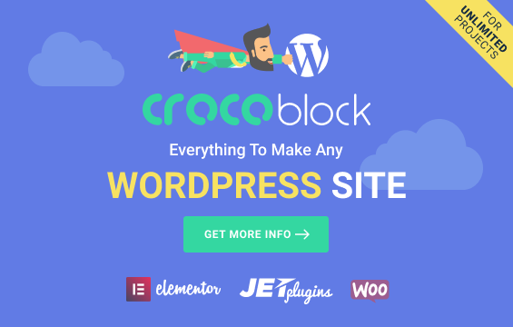 CrocoBlock, make any WordPress site without any coding knowlege