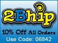 2Bhip 10% Off Entire Order