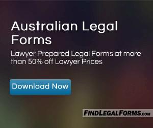 Australian Legal Forms