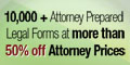 More than 50% off Attorney Prices