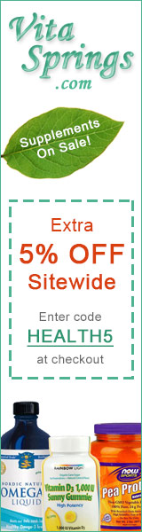 Discount Health Supplements at VitaSprings.com