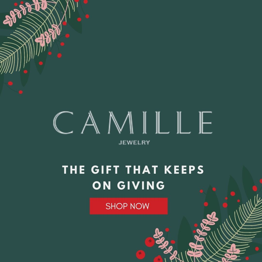 Camille Jewelry - Holiday gift ideas. Magnetic chain necklace for face masks