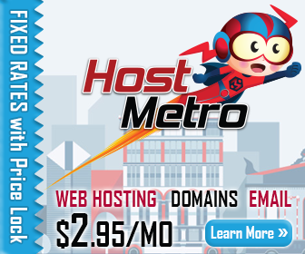 Fixed-Rate Hosting only with HostMetro