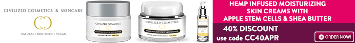 HEMP INFUSED SKIN CREAMS - 40% DISCOUNT