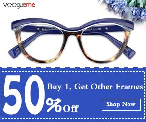 Buy 1, Get Other Frames 50% Off
