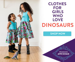 The Princess Awesome Dinosaurs Collection