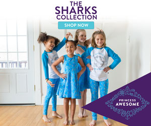 The Princess Awesome Sharks Collection