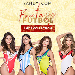Yandy World Cup Bodysuits