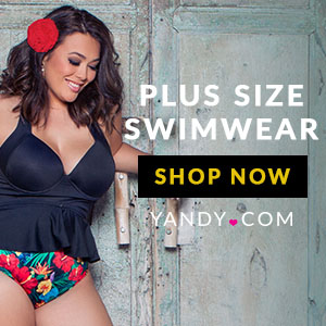 Plus Size Swimwear Yandy - Yellow