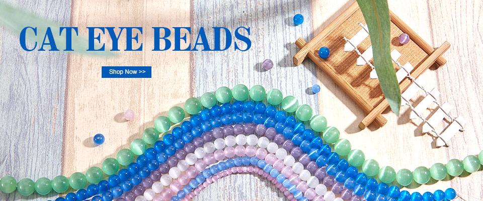 Hot Cat Eye Beads