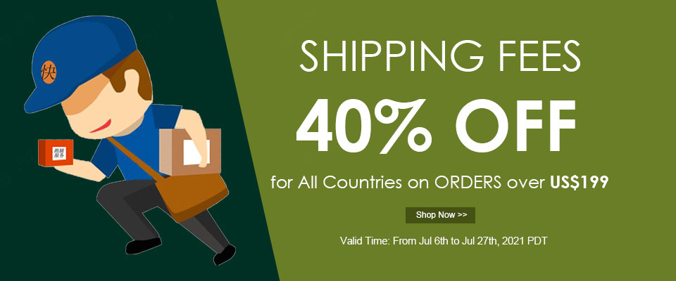 40% OFF Shipping Free for Order Over $199 On Jewelry Beads