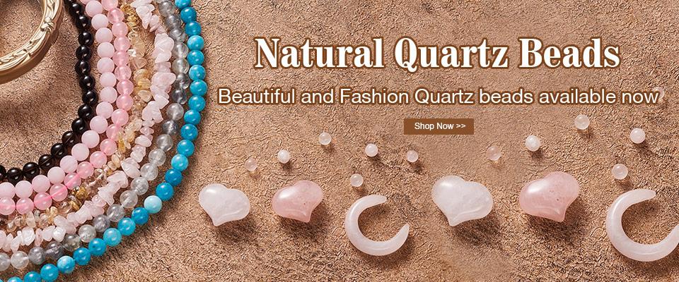 Natural Quartz Beads