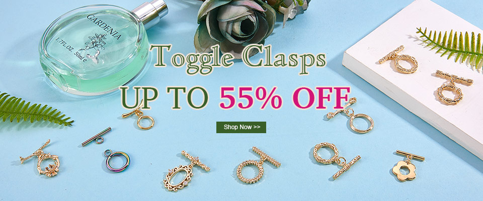 Up to 55% OFF on Toggle Clasps