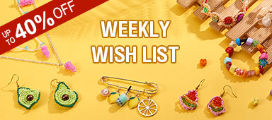 UP TO 40% OFF on Weekly Wish List