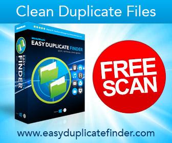 Clean Duplicate Flies, Scan, DL, PC