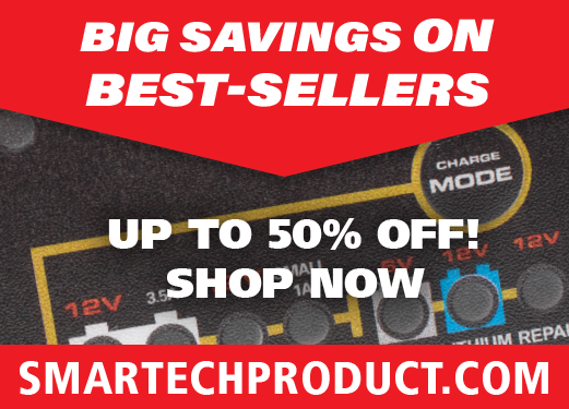 Keep the big-boy toys juiced up and ready to roll! Cars, Trucks, Motorcycles, ATVs, Boats and More! Up to 50% off — Shop now, save big, have fun — SmartechProduct.com