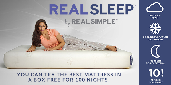 Real Sleep Mattress by Real Simple