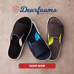 Shop Dearfoams.com now!