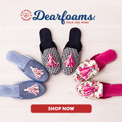Shop Dearfoams.com now!