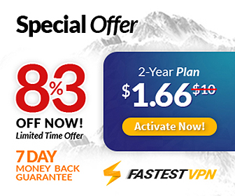 83% discount on VPN