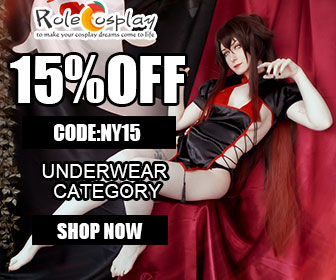 Rolecosplay.com Save 15% OFF on our Underwear Collection, Use Code: NY15