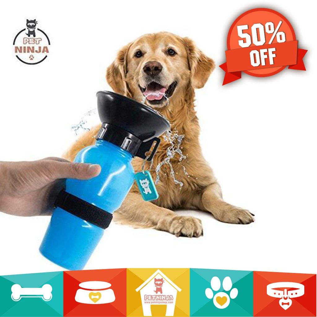 Pet Ninja Zero Mess, No Spill Dog Water Mug