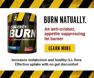 An anti-oxidant, appetite suppressing fat burner